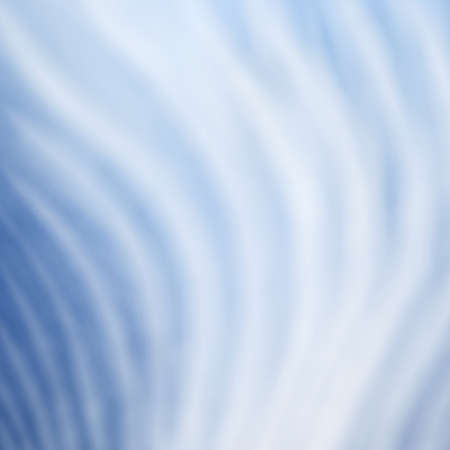 smeared: abstract blue background with white wavy stripes in random curved pattern, artsy blue background design