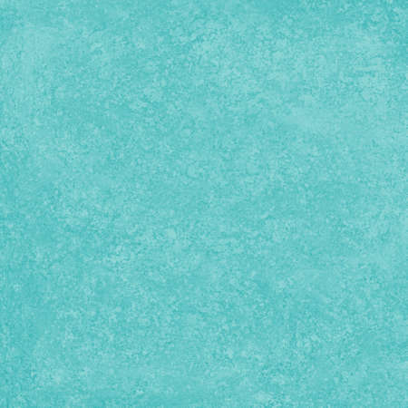 plain solid bright blue green background with rough distressed vintage grunge texture