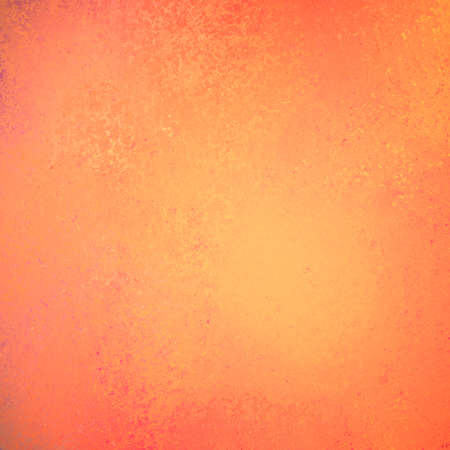 smeared: warm autumn orange red background, vintage distressed texture