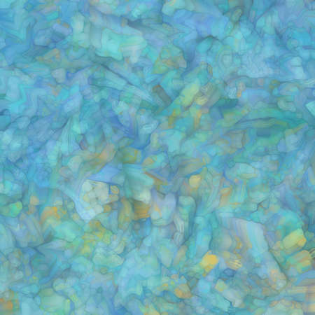 glassy mosaic blue background texture Stock Photo