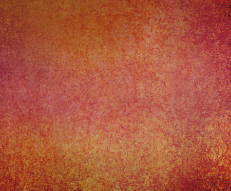 red orange and gold background with crackled vintage distressed texture