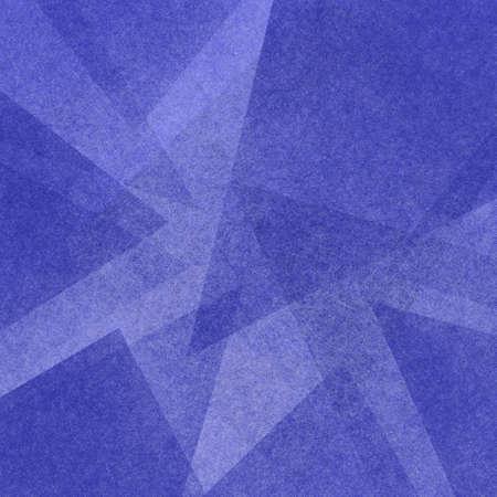 niebieskie abstrakcyjne tło z warstwami trójkąta w nowoczesnym geometrycznym wzorze
