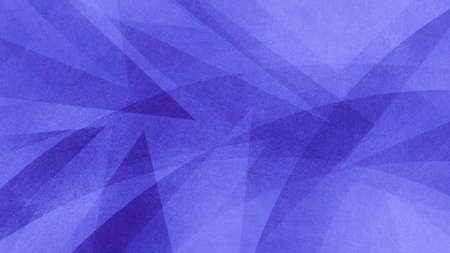 Purple blue and white abstract geometric background with triangle shapes layered in abstract modern art design, textured background
