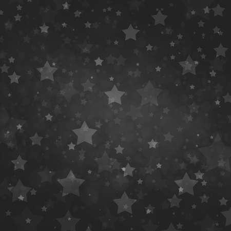 Star background design. Midnight black sky with soft white stars shining at night  . Standard-Bild - 130159406