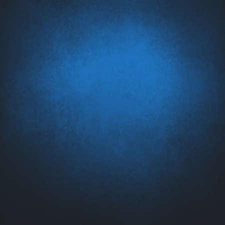 schwarzer Hintergrund mit hellem saphirblauem Mittelfleck und dunklem Vignettenrand in elegantem Hintergrunddesign mit Vintage-Textur