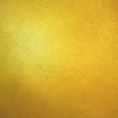 Gold background with faint detailed old vintage grunge texture; abstract rough bright yellow material design that is distressed and worn Standard-Bild - 130159411