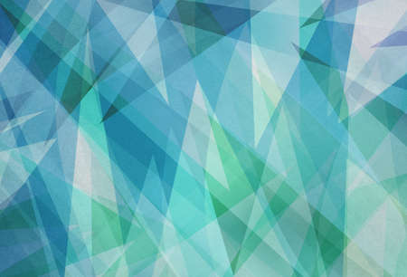 blue green background with abstract angles and triangle layers in abstract geometric pattern for web and business designs Stock fotó