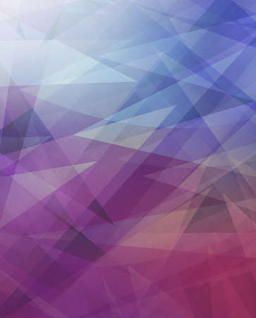 blue and purple background with abstract angles and triangle layers in abstract geometric pattern for website and business designs