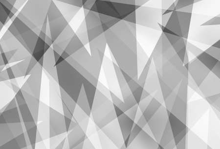abstract black and white background with triangle geometric design