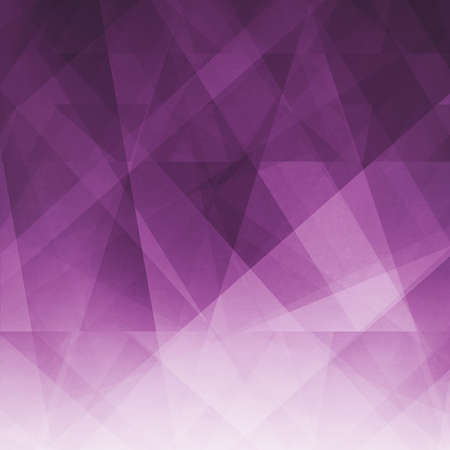 abstract background in dark purple pink and white stripes, lines, triangles and polygon shapes with transparent layers in modern business design, faint texture, and violet color tones Фото со стока