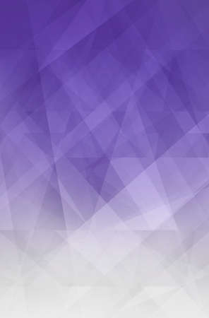 abstract background in purple and white stripes, lines, triangles and polygon shapes with transparent layers in modern business design, faint texture, and cool gradient color tones Фото со стока
