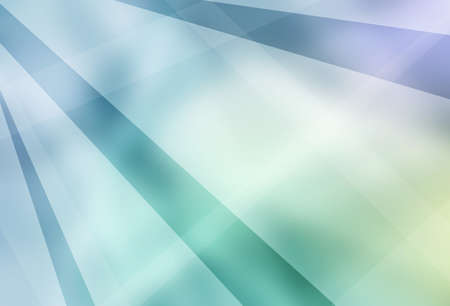 blue green and white abstract background with modern white geometric stripes layers and lines in a random classy design with blurred bokeh texture