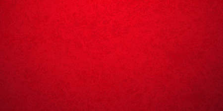 Red background in Christmas or valentines day holiday colors and old vintage texture, red painted plaster wall or metal textured material Standard-Bild - 130159489