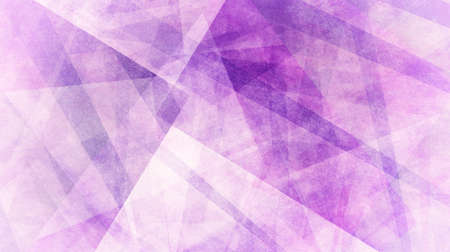 Abstract purple geometric background with triangle shapes and striped lines in random pattern
