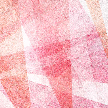 pink orange and white background with texture and triangle shapes with stripes and geometric layers
