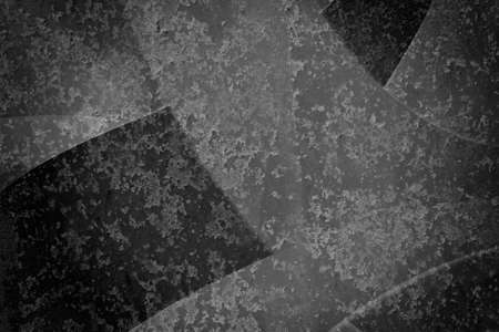 texture background in black and white with lots of grunge metal textured shapes with rusted corroded grungy surface pattern, abstract design