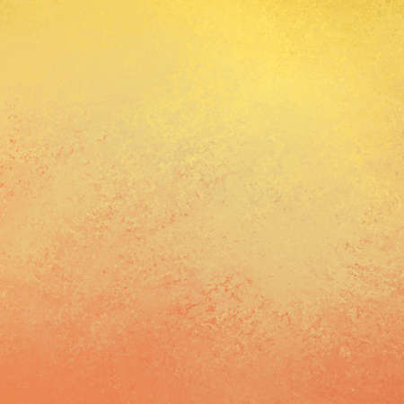 hot orange yellow background texture with abstract sponged or vintage grunge design, warm autumn or fall colors Фото со стока