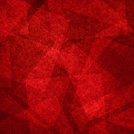 red and black abstract background with square triangle and polygon shapes in transparent layers in modern geometric pattern Stock fotó