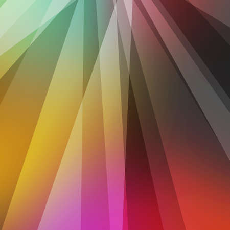 Colorful abstract background design with stripes and layers of white on pink red yellow green and black colors in modern random layout 版權商用圖片