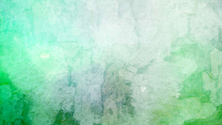 Green background with old white vintage grunge texture; abstract rough material design that is distressed and worn