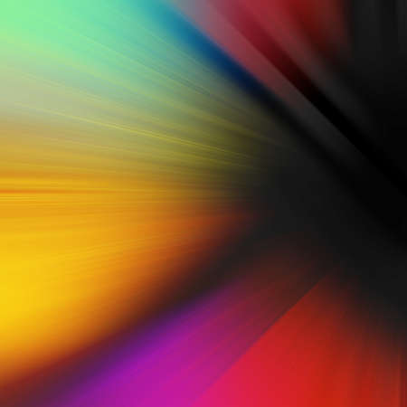 Colorful abstract motion blur background with streaks of light in yellow red orange blue green and purple, zoom perspective design in bright dynamic colors