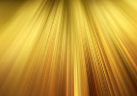 gold motion blur background with yellow rays or lines of paint streaks in elegant fancy sunburst pattern