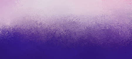 Gradient textured colors of purple and white in abstract background, faded old vintage grunge texture and foggy hazy top border