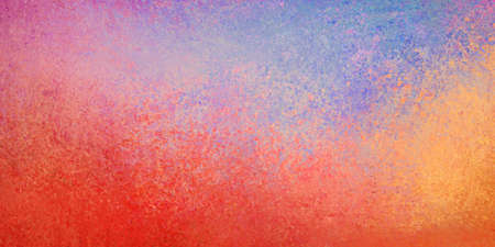 Bright red orange purple pink and blue background, colorful abstract background design with texture and grunge 版權商用圖片