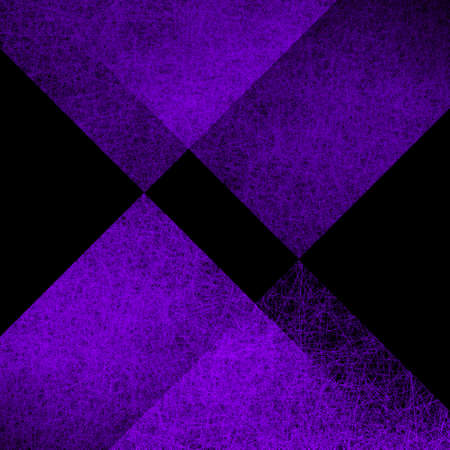 Purple diamond shapes on black abstract background with texture in modern contemporary design, layers of transparent triangles and diamond in geometric pattern that is elegant and classy 版權商用圖片