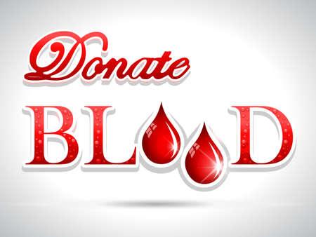 vasos sanguineos: donar sangre, donaci�n de sangre Concepto m�dico con el fondo del coraz�n - vector eps10