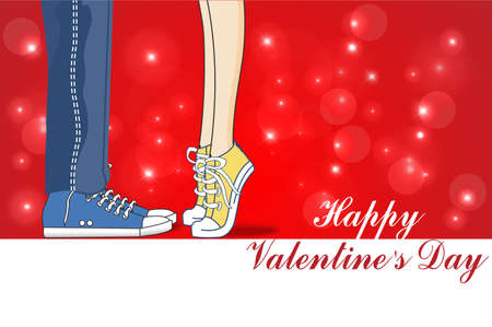 declaration: Happy Valentines Day, a declaration of love, kiss, valentine\