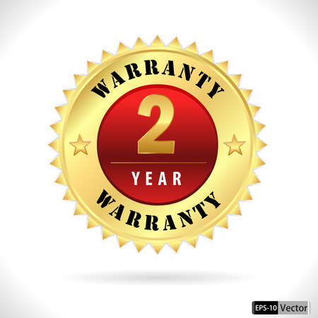 top class: gold top quality 2 year warranty badge