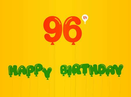 birthday celebration: year birthday celebration flat color,