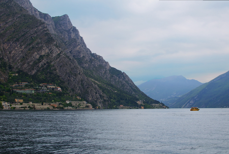 Landscape of Lake Garda