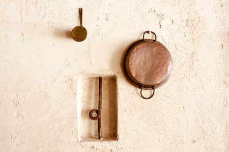 cupper: cupper decorative kitchen stuff on the wall