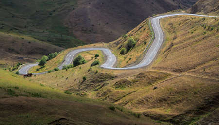 anatolia: Winding road in rural areas, Anatolia, Turkey