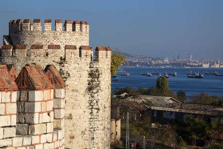 Yedikule Fortress is a section Walls of Constantinople.  It was used as a treasury, archive, and state prison. Voyage en Moree, Constantinople, en Albanie, et dans plusieurs autres parties de lEmpire Othoman, pendant les annes 1798, 1799, 1800 et 1801 b