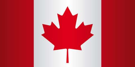 Canada flag  Large Vector illustration  Illustration