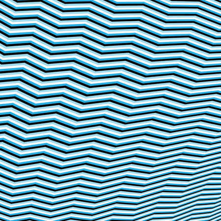 Diagonal Blue lines wave pattern  Repeat straight stripes texture background Vector