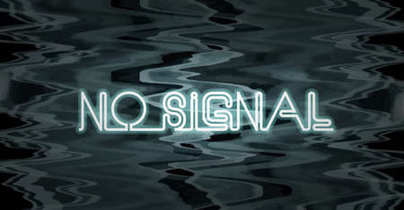 no signal: No Signal Television Screen  Vector