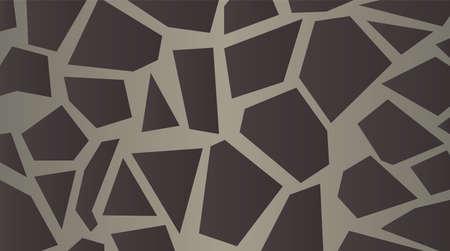 Stylized giraffe skin pattern  Large Grey background vector