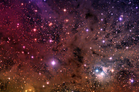 Galaxy colorful Background  Space  Stock Photo