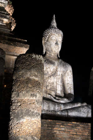 Buddha in Sukhothai Historical Park Stock Photo - 11963263
