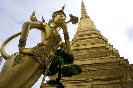 wat phra keaw bangkok thailand  photo