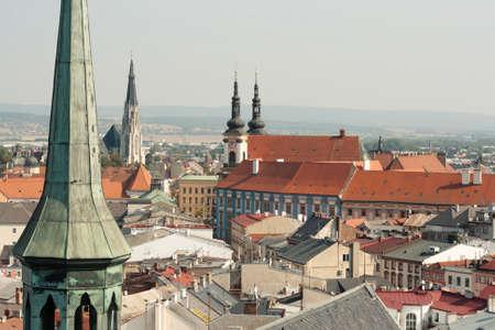 View of the city of Olomouc, Czech Republic