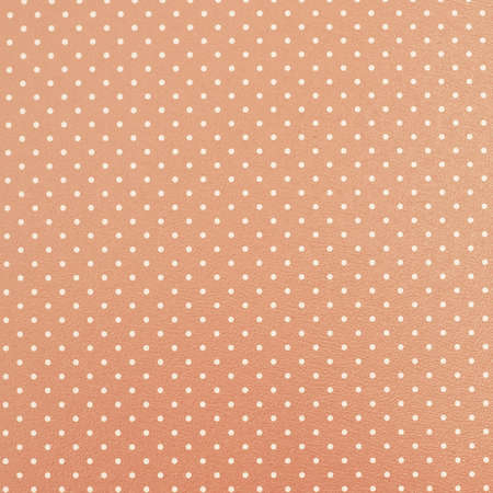 pink salmon: Dotted pink-yellow background