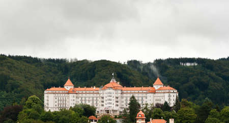 vary: The Imperial Hotel in Karlovy Vary, Czech Republic