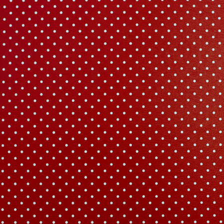 Dotted red background Stock Photo