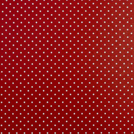 red polka dots: Fondo de color rojo con puntos