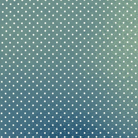 round dot: Dotted blue-green background